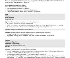 Resume Resume Example Resume Writing Call Center Objectives