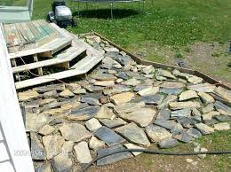 luxuriant stone patio build ideas tio diy raised flagstone patio build a flagstone patio on uneven ground installing a flagstone patio with mortar x jpg
