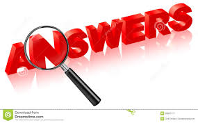 Search Answers On Questions Solve Problems Stock Illustration ...
