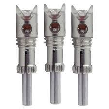 Nockturnal Crossbow Predator Red Lighted Nock 3 Pack Nt732