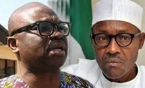 Image result for Obasanjo letter to Buhari, belated, self-serving —Fayose