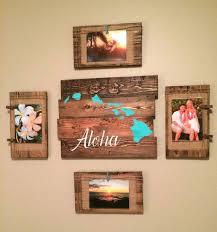 reclaimed wood wall art aloha hawaiian