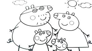 Peppa Pig Coloring Pages Printable Essayscollegeinfo