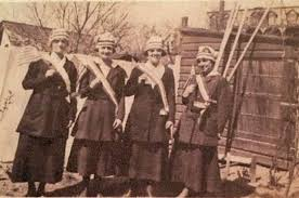 york s munchel sisters pared in quest for woman suffrage