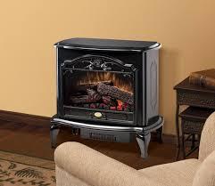 dimplex black electric fireplace stove