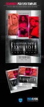 fashion exclusive flyer template flyer templates flyer fashion exclusive flyer template