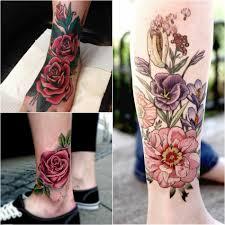 тату на ноге интересные татуировки на ноге для мужчин и женщин