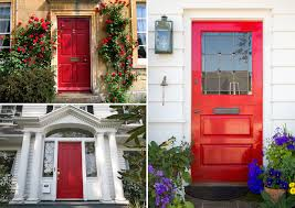 painting front doorThe Tradition of Painting a Front Door Red  What Does it Mean
