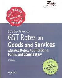 Tallys Big Easy Reference On Gst Rates On Goods And Services With