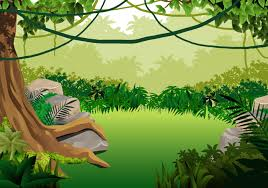 jungle background vector. Wonderful Jungle And Jungle Background Vector Vecteezy