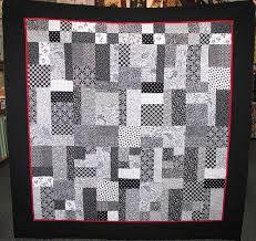 Nero & Bianco (Black & White) patchwork Quilt & Patchwork Quilt Kits - Nero & Bianco (Black & White) Quilt Adamdwight.com