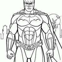 Kleurplaten Batman Kleurplaten Kleurplaatnl