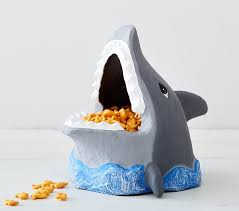 shark paper mache treat bowl pottery barn kids shark paper mache treat bowl