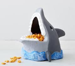 shark paper mache treat bowl pottery barn kids shark paper mache treat bowl