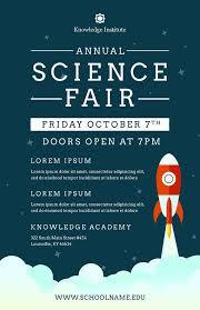 Flyer Templates Word Diy Printable School Science Fair Flyer Template Word Flyer