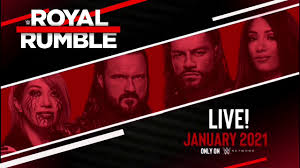 WWE Royal Rumble 2021 Preview Promo - YouTube