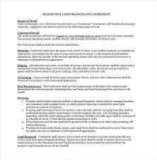 Standard Service Agreement Template Beautiful Services Contract Pdf
