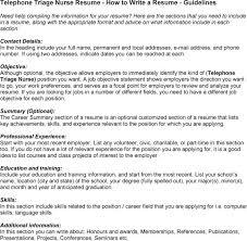 Telephone Triage Nurse Resume Ab Initio Developer Resume Sample