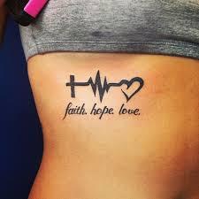 30 Glaube Liebe Hoffnung Tattoo Vorlagen Für Männer Und Frauen
