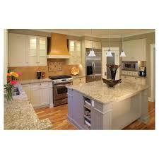 Light Beige Granite Countertop Light Colored Kitchen White Cabinets Light Gray Granite