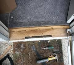 front door thresholdThe Home of DIY How to Install RepairExterior Door Threshold Sill