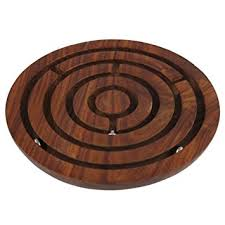 Wooden Maze Games Amazon Handcrafted Indian Wooden Labyrinth Ball Maze Puzzle 21