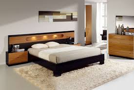 modern wood bedroom sets. Enthralling Modern Bedroom Sets Visualized With Luxury Platform Bed And Trendy Dresser Design Wood E