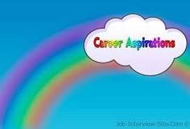 Example Of Career Aspiration Career Aspirations Examples Of Career Aspirations
