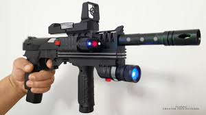 Super Bb Gun With Laser And Torch Light The Best Toy Gun Kit Realistic Laser Air Sport Gun Toy Unboxing World Class Weapon Toys