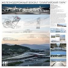 Смена формата Железнодорожный вокзал Олимпийский парк Студия 44 Изображение предоставлено пресс
