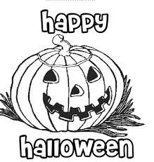 Small Picture Happy Halloween Pumpkin Coloring Pages Printable Free Template