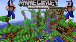 minecraft xbox   sonic the hedgehog map awesome map w
