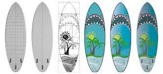 How To Design A Surfboard Shark Surfboards Design Ideas