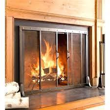 outstanding outdoor fireplace screens large gretaandstarks regarding wood burning fireplace accessories popular
