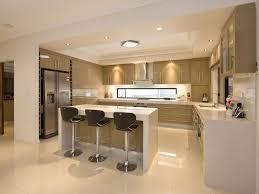 Kitchen Design, Amazing Brown Rectangle Modern Wooden Open Kitchen Layouts  Varnished Ideas: terrific open