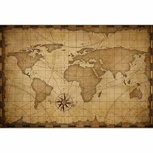 Us 9 58 31 Off Funnytree Backgrounds For Photography Studio Old Nautical Vintage World Map Travel Professional Backdrop Photobooth Photocall In