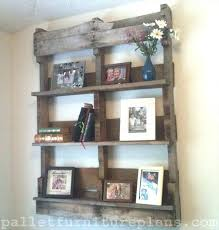 interesting inspiration diy pallet shelves instructions architecture