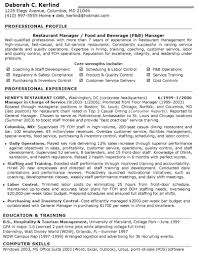 restaurant manager resume sample getessay biz restaurant manager resume objectiveregularmidwesterners resume and inside restaurant manager resume