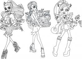 Small Picture Monster High Coloring Pages 13 Wishes aecostnet aecostnet