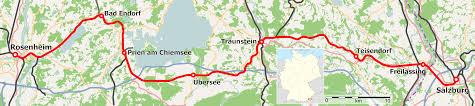 Bahnstrecke Rosenheim–Salzburg