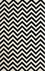 zigzag rug yellow