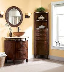 modern bathroom linen cabinets. Splendid Vanity Dresser Of Bathroom Linen Cabinets Models With Washbowl Feat Flower Near Tall Storage On The Corner At Modern View