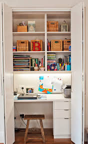 tiny closet office