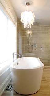 elegant freestanding tubs in bathroom contemporary with