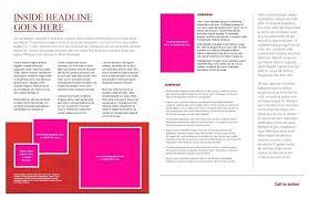 brochure microsoft word 11 x 17 brochure template a photo of fold z microsoft word margines info