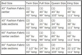 Bed Linen glamorous full size sheet measurements Bedding Size Chart