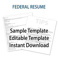 Federal Resume Template Federal Job Resume Template Nicetobeatyoutk 49