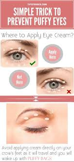 how to prevent puffy eyes