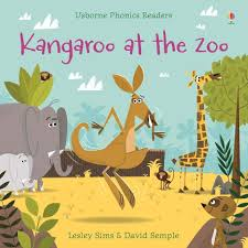 Usborne Phonics Readers Kangaroo at the Zoo by Lesley Sims – Book & Paper -  Williamstown