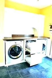 washer and dryer countertop laundry washer dryer countertop plans